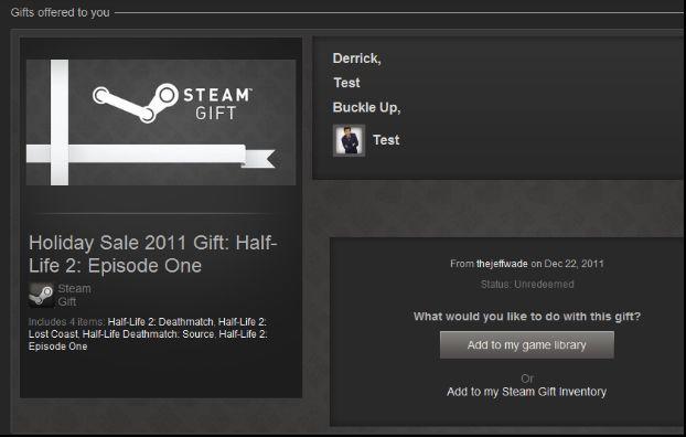 Valve uniemożliwia szybką wymianę prezentów na Steamie - obrazek 1