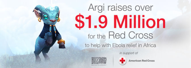 Prawie dwa miliony dolarów od fanów WoWa i Blizzarda na ofiary eboli - obrazek 1