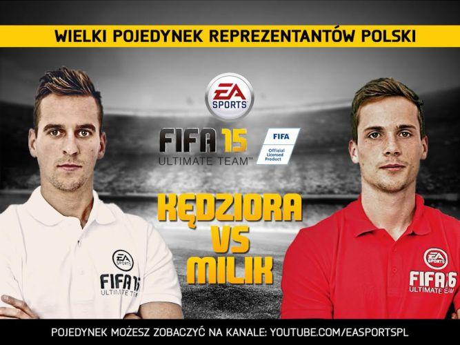 Pojedynek w FIFA Ultimate Team - Milik vs Kędziora - obrazek 1