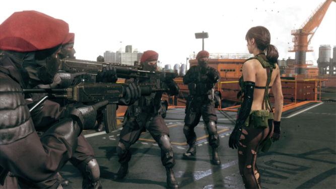 Metal Gear Solid V wstaje z kolan po problemach z serwerami - obrazek 1