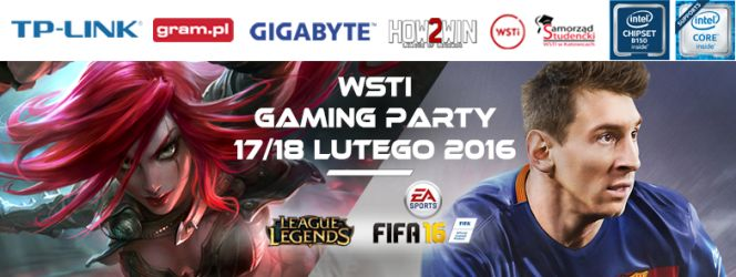 W lutym w Katowicach odbędzie się WSTI Gaming Party  - obrazek 1