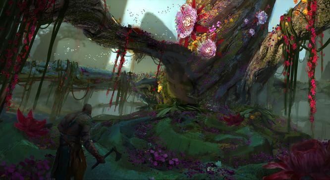 God of War 4 - wyciekły grafiki koncepcyjne z gry - obrazek 1