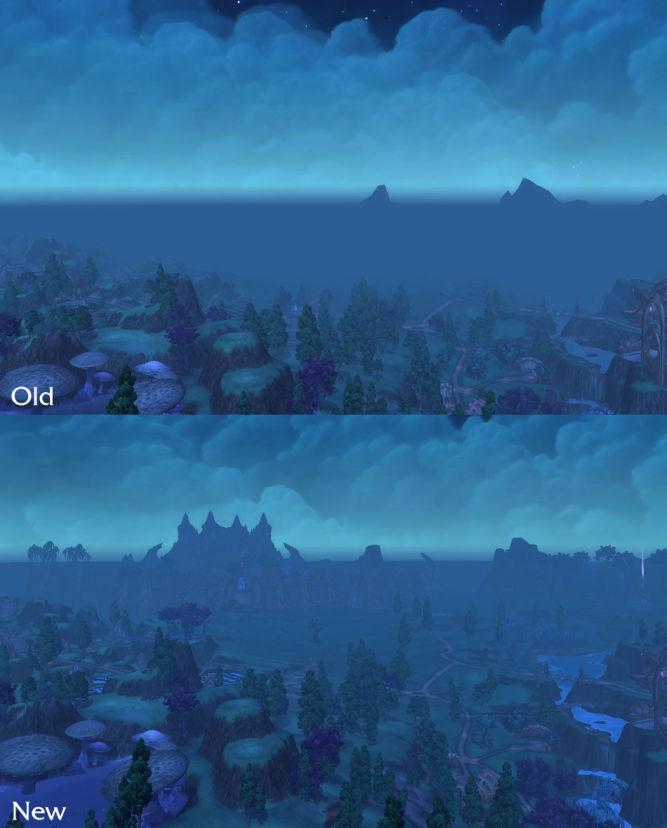 World of Warcraft: Legion z większą odległością rysowania obiektów - obrazek 2
