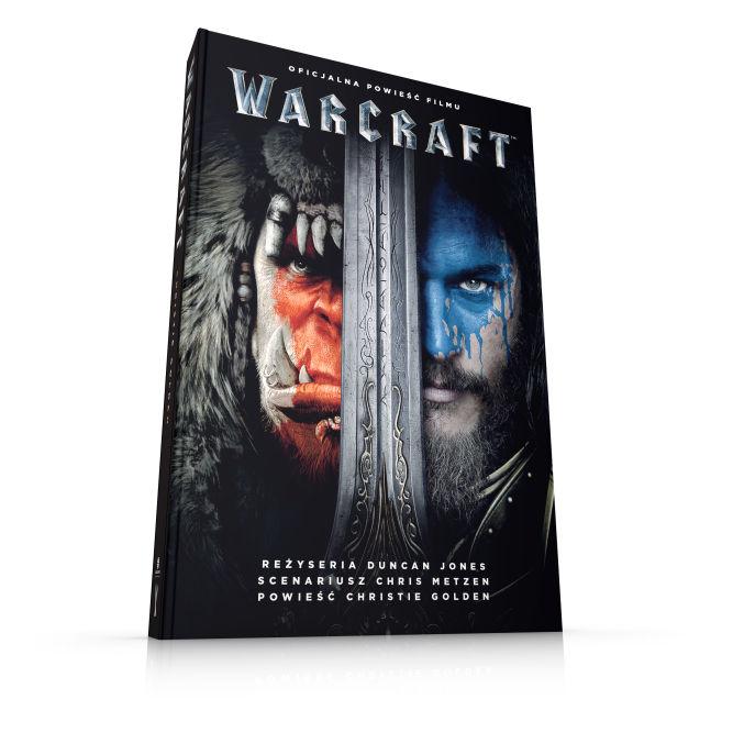 """Zgarnij książkę Christie Golden """"Warcraft"""" - oficjalną powieść filmu Warcraft: Początek! - obrazek 1"""