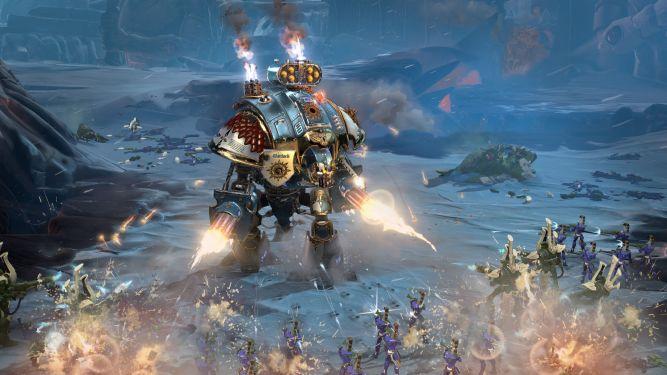 Spektakularne screeny z WH40k: Dawn of War III w ogromnej rozdzielczości - obrazek 1