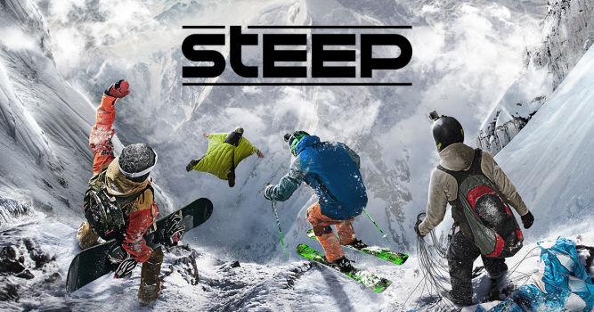 Steep połączy w sobie aż cztery sporty ekstremalne - snowboard, narty, wingsuit oraz paralotniarstwo. - obrazek 1