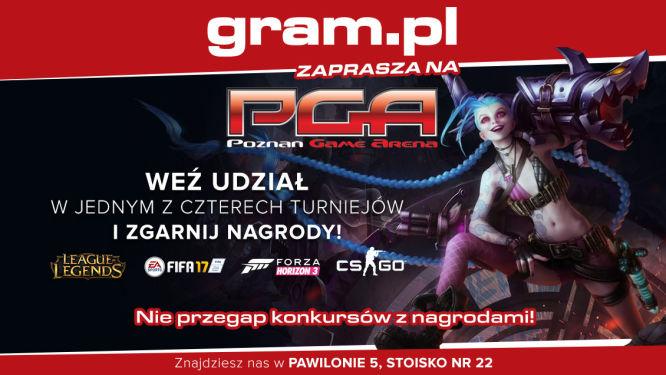 Gram.pl na PGA 2016! Zapraszamy na nasze stoisko! [ZDJĘCIA] - obrazek 1