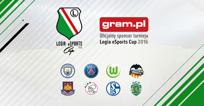 Gram.pl oficjalnym sponsorem Legia eSports Cup 2016! - obrazek 1