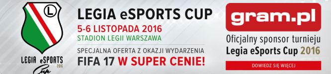 Gram.pl oficjalnym sponsorem Legia eSports Cup 2016! - obrazek 2