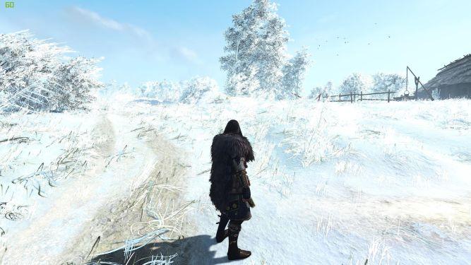 Zima w Wiedźminie 3. Pobierz mod i drepcz po śniegu - obrazek 1