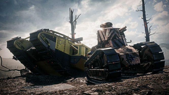 Święta już się zaczęły - przynajmniej te w Battlefield 1. Pod choinką znajdziecie skórki dla czołgów  - obrazek 1