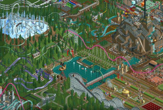 Połączone RollerCoaster Tycoon 1 i 2 na iOS i Androidzie - obrazek 1