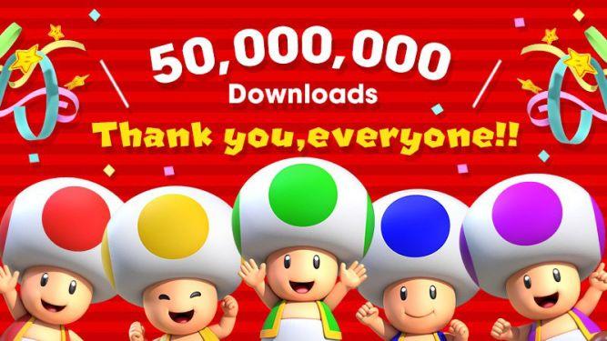 Super Mario Run pobrane już 50 milionów razy! - obrazek 1
