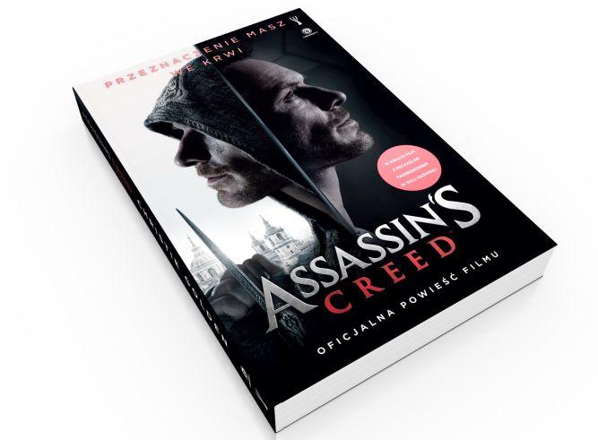 Oficjalna powieść filmu Assassin's Creed debiutuje już dziś - przeczytaj fragmenty książki! - obrazek 1