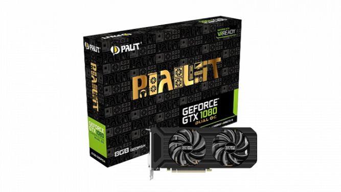 Zapowiedziano Palit GeForce GTX 1080 Dual OC - obrazek 2