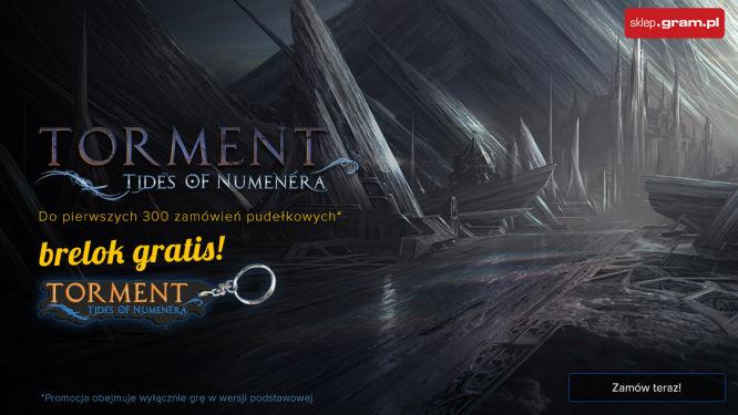 Torment: Tides of Numenera - zamów wersję pudełkową i zgarnij brelok! - obrazek 1
