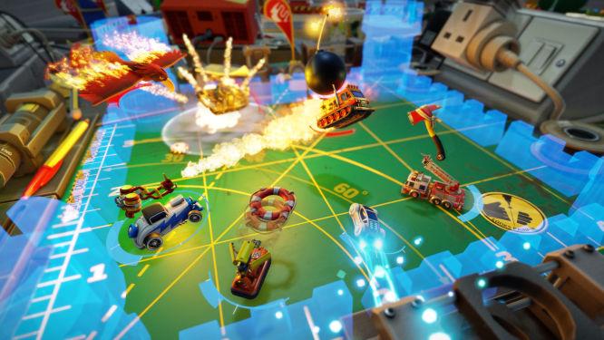 Tak będzie wyglądać Micro Machines World Series - Codemasters zaprezentowało świeże grafiki - obrazek 4