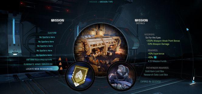Mass Effect Andromeda - garść informacji o trybie Misje - obrazek 2