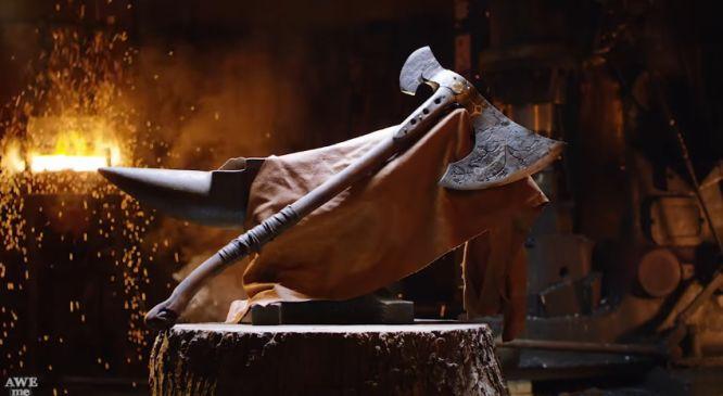 God of War - topór Kratosa w rzeczywistości wyglądałby epicko - obrazek 1