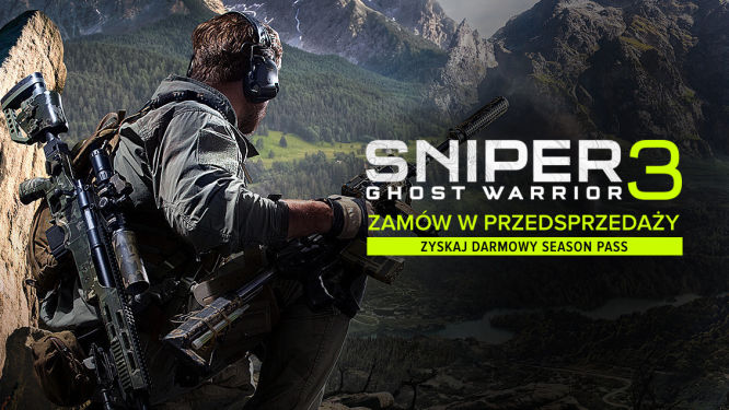 Sklep: Sniper: Ghost Warrior 3 - zamów przed premierą i zgarnij bezpłatnie Season Pass! - obrazek 1