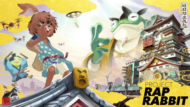 Project Rap Rabbit - poznajcie nowy projekt twórców PaRappa the Rapper i Gitaroo Man - obrazek 1