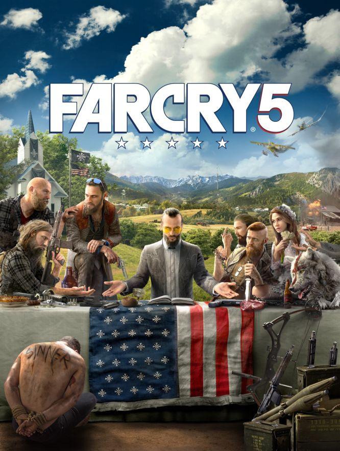 Grafika promocyjna Far Cry 5 trafiła do sieci - obrazek 1