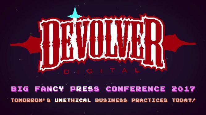 E3 2017: Devolver Digital zakpiło z całej branży! Krwawy pastisz targowych konferencji - obrazek 1