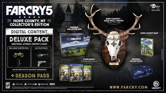 E3 2017: Far Cry 5 - ujawniono edycję kolekcjonerską - obrazek 1