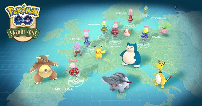 Pokemon Go - Niantic ujawnia szczegóły wydarzeń Safari Zone - obrazek 1