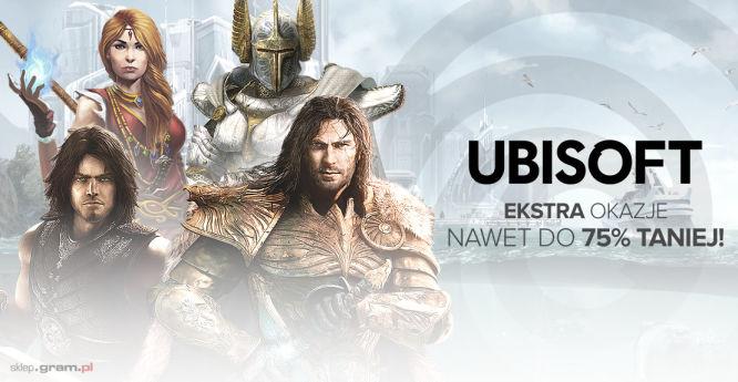 Wybrane gry na PC od Ubisoftu tańsze nawet o 75% w sklepie Gram.pl - obrazek 1