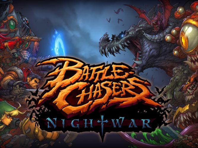 Battle Chasers: Nightwar - poznajcie Alumona, łowcę demonów - obrazek 1