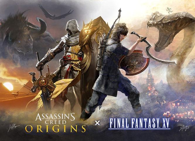 Final Fantasy XV otrzyma DLC powiązane z grą Assassin's Creed: Origins - obrazek 1