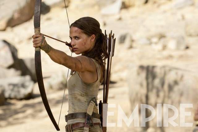 Alicia Vikander na nowym zdjęciu z planu filmu Tomb Raider - obrazek 1