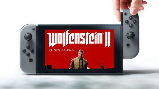 Doom i Wolfenstein II: The New Colossus zmierzają na Nintendo Switch - obrazek 1