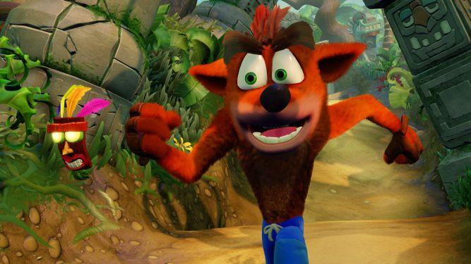 Crash Bandicoot N. Sane Trilogy sprzedaje się świetnie - obrazek 1