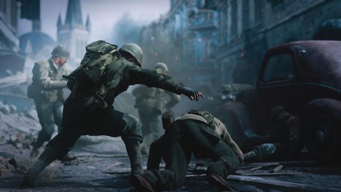 Call of Duty: WWII - Sledgehammer Games stara się rozwiązać problemy z serwerami - obrazek 1
