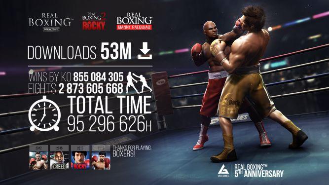Real Boxing świętuje 5 urodziny - obrazek 1