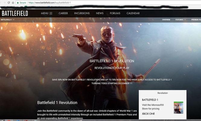 Battlefield 1 – przypadkowo ujawniono datę premiery dodatku Niespokojne wody - obrazek 1