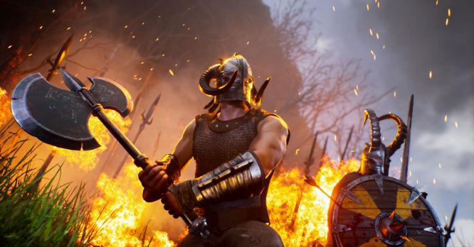 Nowe screeny z Rune: Ragnarok: bohaterowie, walka z gigantem i bitwa morska - obrazek 1