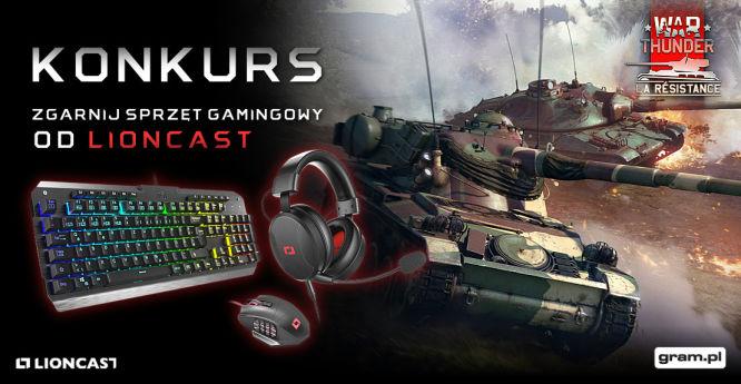 Przygotuj swój czołg w War Thunder na zimę i zgarnij sprzęt gamingowy od Lioncast! - obrazek 1