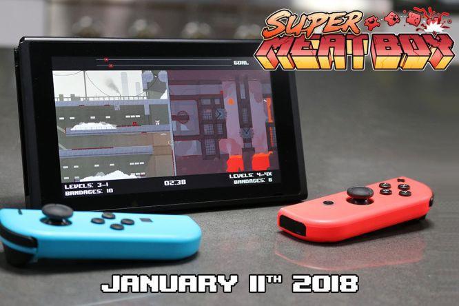 Super Meat Boy sprzedaje się świetnie na Nintendo Switch - obrazek 1