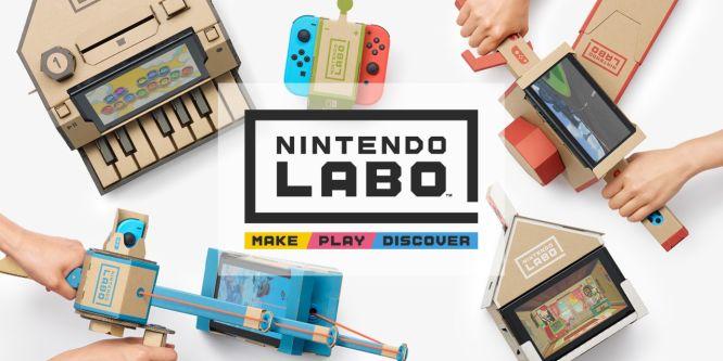 Nintendo Labo zamieni zwykły karton w interaktywne zabawki - obrazek 1