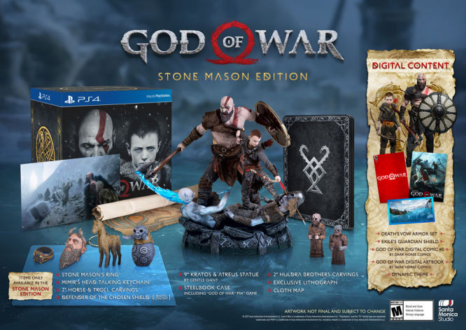 God of War - ujawniono edycję kolekcjonerską - obrazek 1