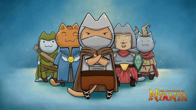 Chronicles of Nyanya - ekscentryczny RPG z wojowniczymi kotami ukaże się 16 lutego - obrazek 1