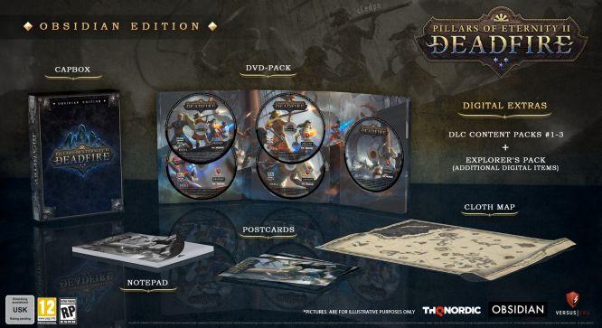 Data premiery Pillars of Eternity II: Deadfire ujawniona. Będą edycje Deluxe i Obsidian - obrazek 2