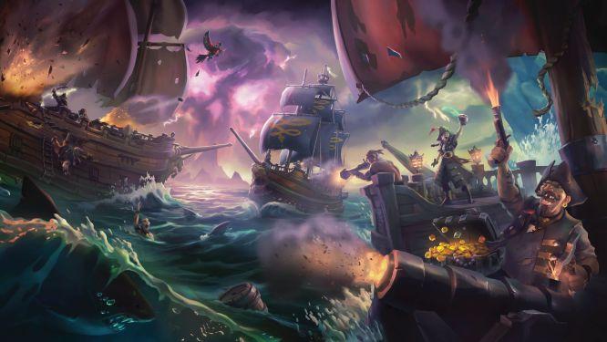 W zamkniętej becie Sea of Thieves wzięło udział 332 tysięce graczy - obrazek 1
