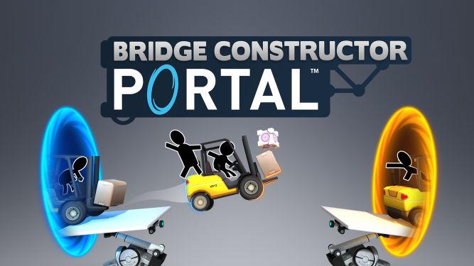 Bridge Constructor Portal z datą premiery na PS4, XOne i Switcha - obrazek 1