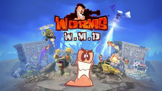 Worms W.M.D. na Nintendo Switch bez wersji pudełkowej - obrazek 1