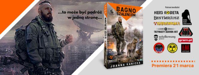 Bagno Szaleńców - nowa powieść z serii Fabryczna Zona ukaże się 21 marca - obrazek 1