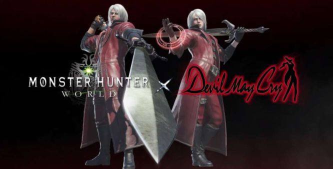 Monster Hunter World z dodatkami z serii Devil May Cry - obrazek 1